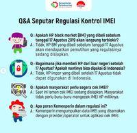 Alasan Jokowi Ngotot Terapkan Aturan IMEI Basmi HP BM