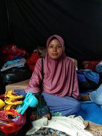 Melihat Lebih Dekat Kondisi Korban Kebakaran Tebet di Tenda Pengungsian
