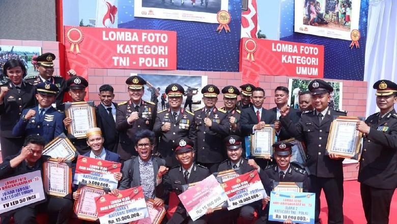 Bingkai Sinergitas TNI-Polri di HUT Bhayangkara Ke-73