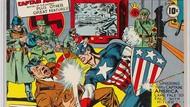 Wah! Komik Langka Captain America Dilelang Rp 7 M
