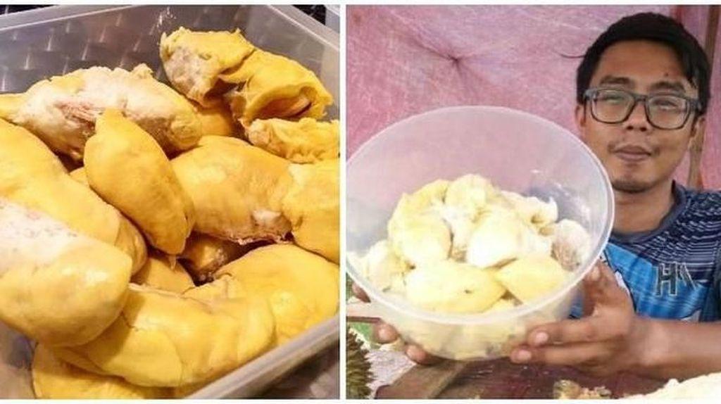 Pose Manis Manohara Saat Makan Hingga Penjual Durian Kupas yang Viral