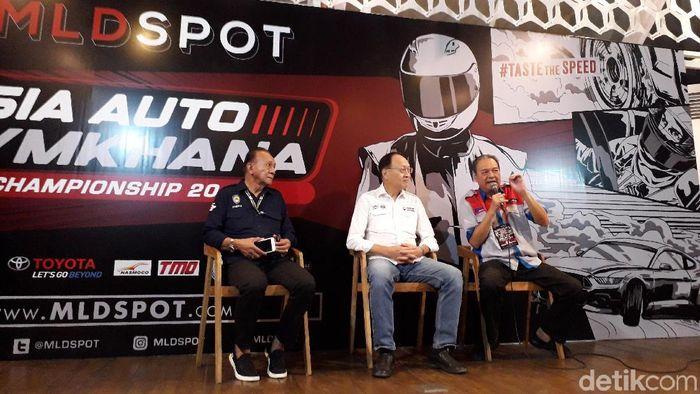 Asia Auto Gymkhana Championship 2019 diramaikan peserta dari 12 negara. (Ristu Hanafi/detikSport)