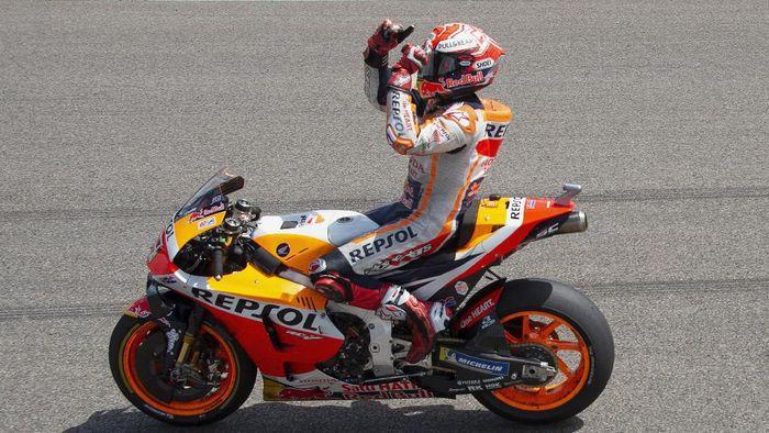 Ducati dan Honda perang komentar terkait Marc Marquez. (Foto: Mirco Lazzari gp / Getty Images)