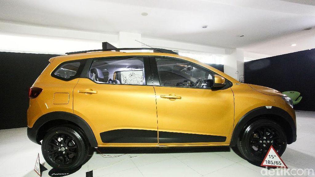 Renault Triber Cocok Jadi Mobil Pilot dan Pramugari Garuda?
