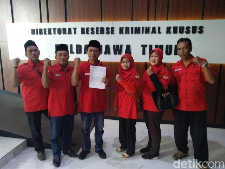 PDIP Surabaya Laporkan Akun Penyebar Foto Rekayasa Megawati dan Jokowi