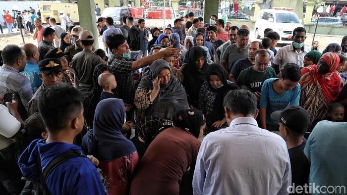 Pencari suaka di Kalideres (Foto: Pradita Utama/detikcom)