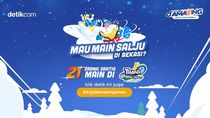 Inilah 21 Traveler yang Gratis Main Salju ke Trans Snow World