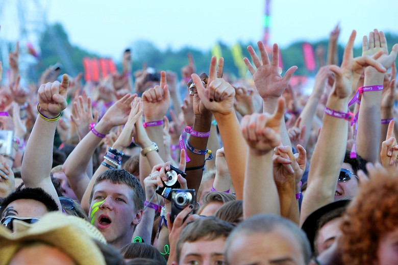 Festival musik musim panas. Foto: Getty Images