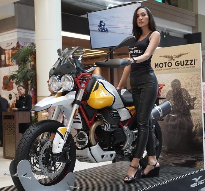 Moge Petualang Moto Guzzi