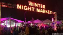 Foto: Pasar Malam Natal Australia di Bulan Juli