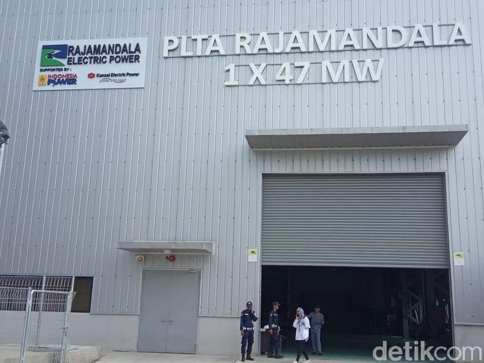 PLTA Rajamandala di Cianjur/Foto: Herdi Alif Al Hikam/detikcom