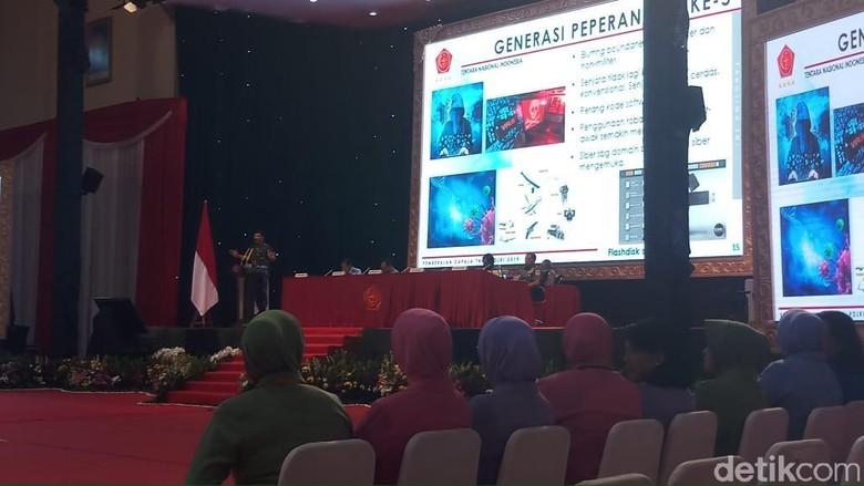 Panglima: Perang Bukan Hanya Domain TNI, Tapi Polri dan Warga