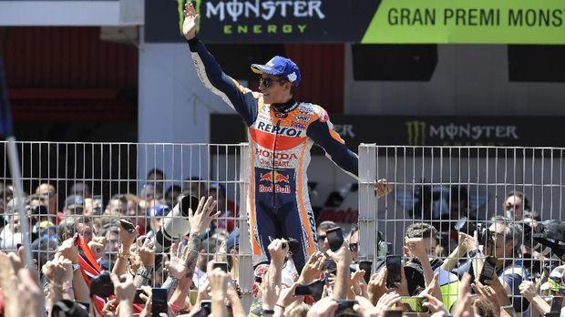Marc Marquez merupakan favorit juara di MotoGP 2019.