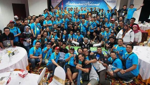 Terios Rush Club Indonesia (TeRuCI) kumpul di Salatiga, Jawa Tengah.