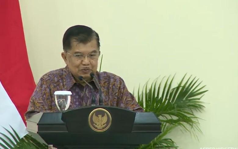 JK: Profesionalisme TNI-Polri Jadi Bagian Keutuhan Negara