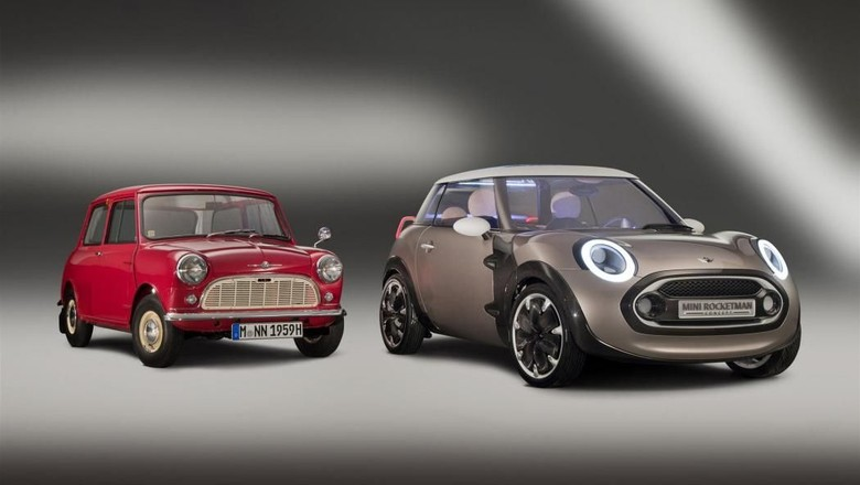 MINI Rocketman Concept Foto: Pool (Leftlanenews)