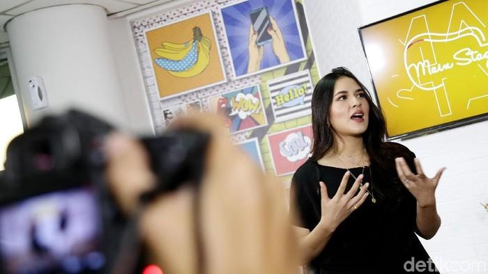Raisa berharap kisah almarhum Sutopo menjadi pelajaran. (Foto: Rachman Haryanto)