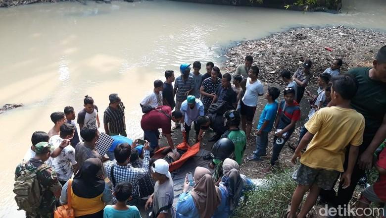 Mayat Tanpa Identitas di Jembatan Kaujon Gegerkan Warga Serang
