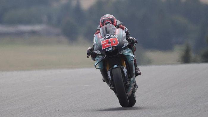 Rider Petronas Yamaha SRT Fabio Quartararo. (Foto: Mirco Lazzari gp/Getty Images)