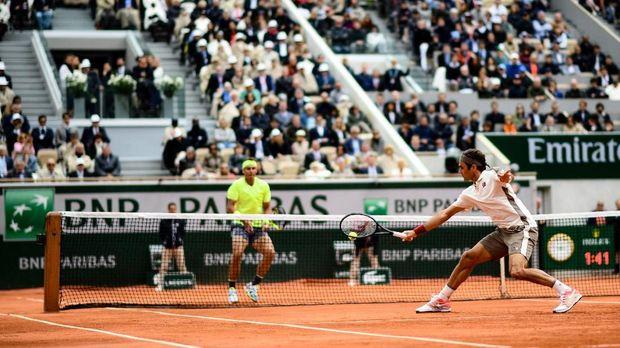 Duel terakhir Federer vs Nadal ada di final Prancis Terbuka 2019.