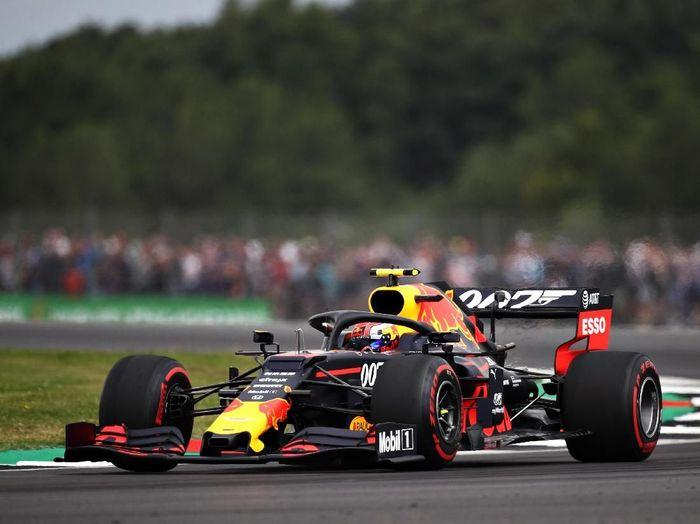 Pierre Gasly tercepat di GP Inggris. (Foto: Bryn Lennon/Getty Images)