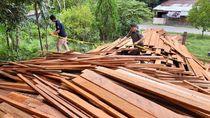 KLHK Sita Ribuan Kayu Olahan Ilegal di Nunukan