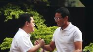 Bertemu Erick Thohir, Sandi Ajak Latih Milenial Jadi Entrepreneur
