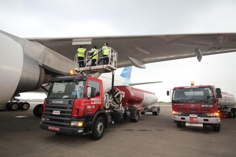 Pertamina Pasok 6,8 Juta Liter Avtur untuk Penerbangan Haji di Sumbar