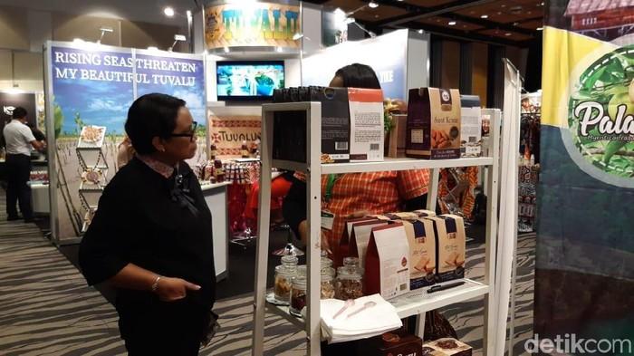 Foto: Pacific Exposition 2019 di Auckland, Selandia Baru.. (Tsarina/detikcom)