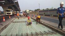 Ada Perbaikan di KM 26 dan 32, Tol Jakarta-Cikampek Alami Penyempitan