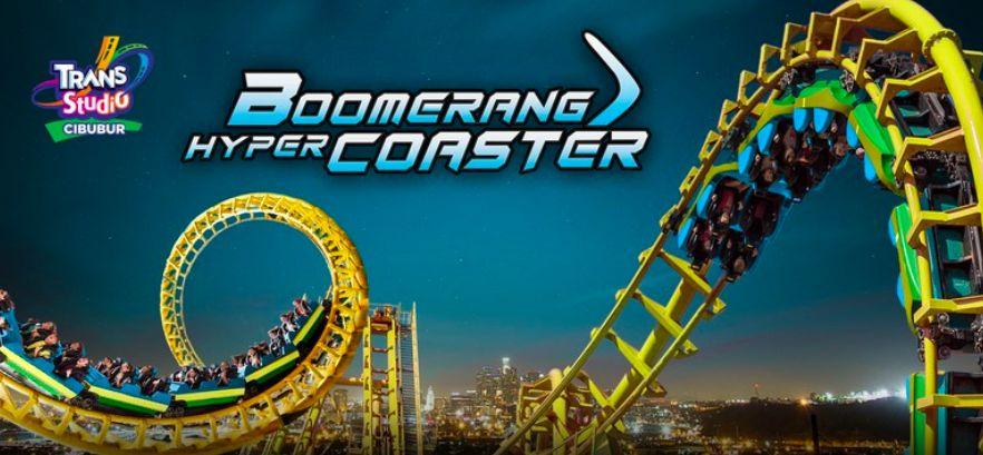 Boomerang caster trans studio cibubur