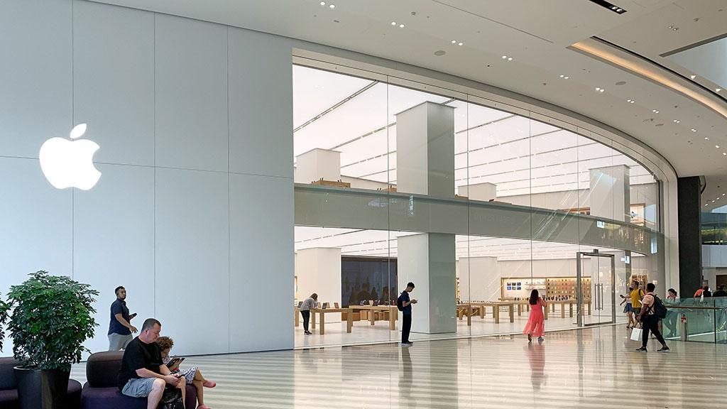 Apple Jawel Changi Airport merupakan toko kedua yang dibuka di Singapura. (Foto: Dok. 9to5mac)
