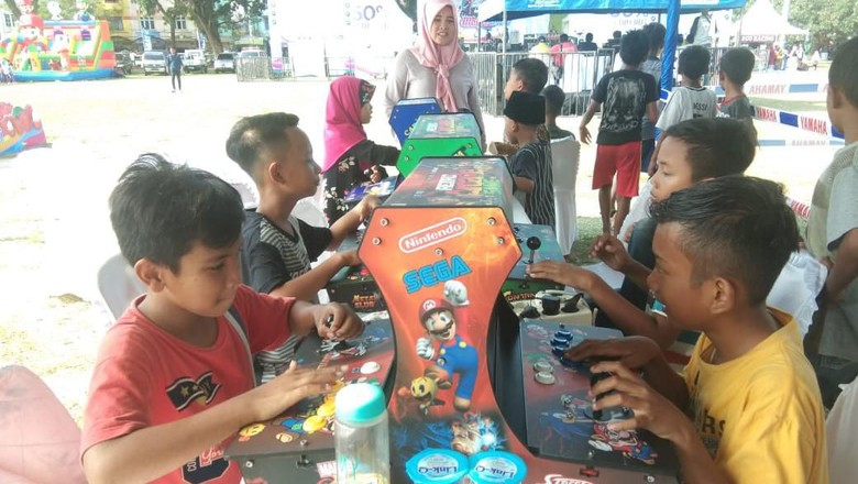 Game dingdong (Foto: Muhammad Idris/detikcom)