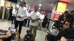 Saat Jokowi dan Prabowo Naik MRT dari Lebak Bulus ke Senayan