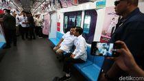 Menhub Ungkap Makna Pertemuan Jokowi-Prabowo di MRT