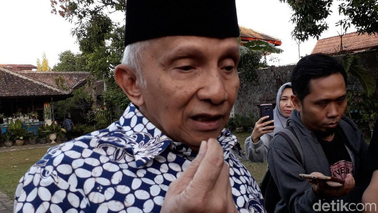 Jika Kubu 02 Gabung Jokowi, Amien Rais: Game is Over!