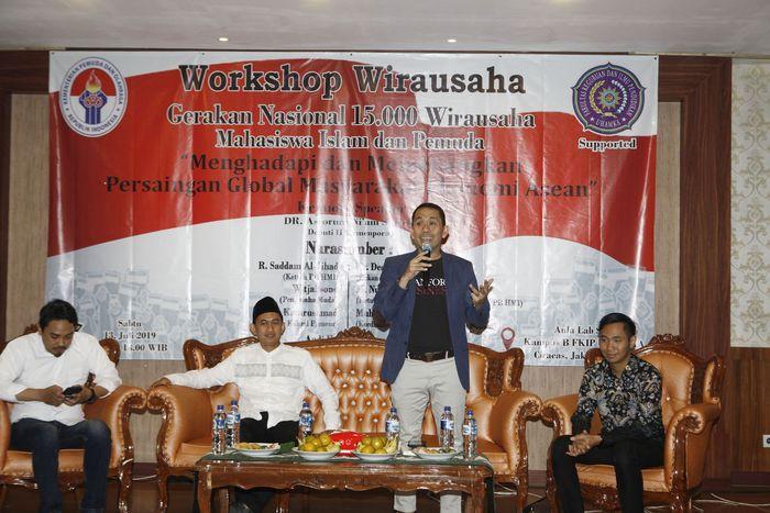 Acara ini digelar di kampus Uhamka, Jakarta. Pool/KAHMI.
