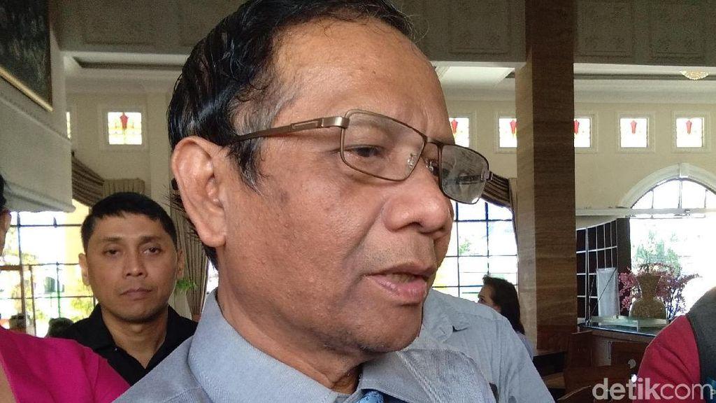 Mahfud Md: Masyarakat Ingin Jokowi-Prabowo Berbagi Peran