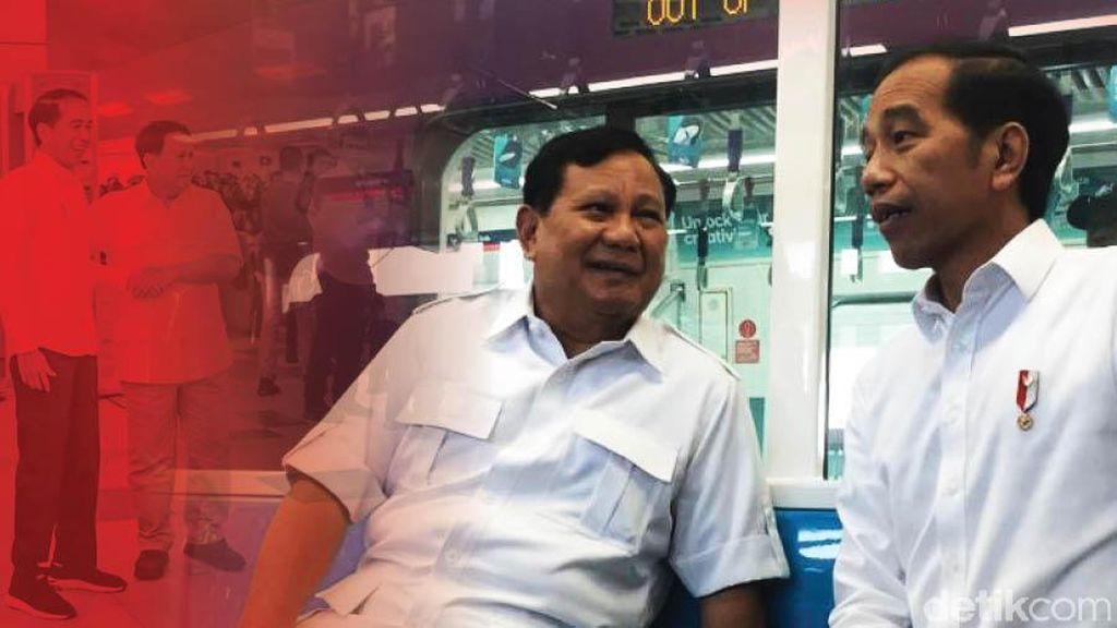 Jokowi dan Prabowo Bertemu, IHSG Diproyeksi Kembali Berotot