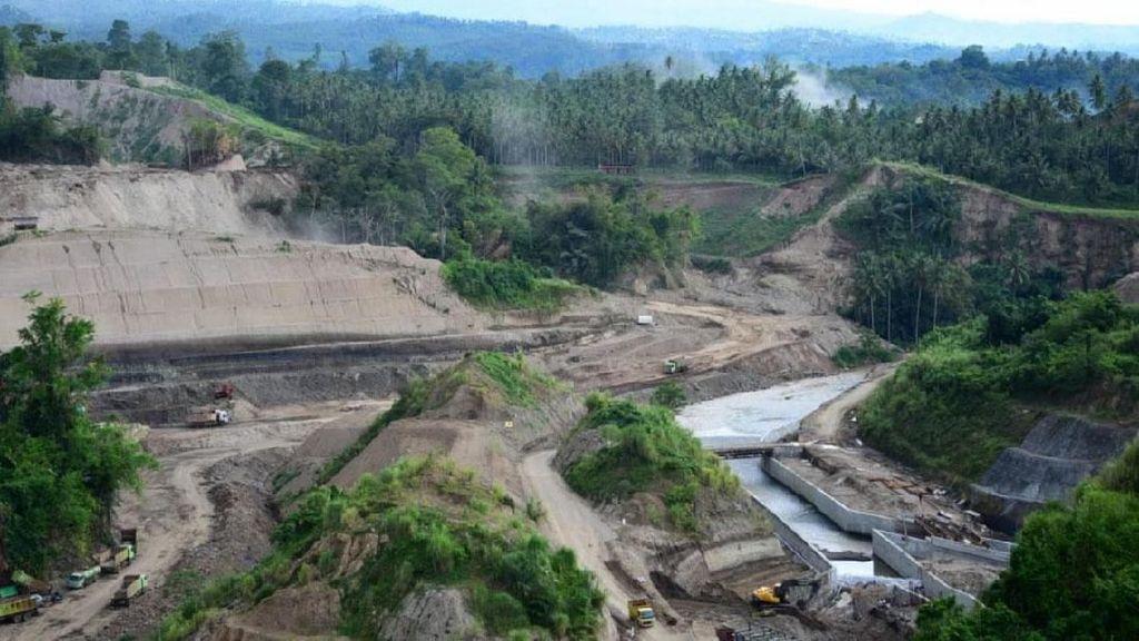 Penampakannya Proyek Bendungan di Sulawesi Utara