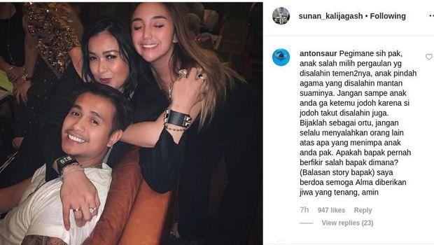 Salmafina Panggil Istri Ajun Perwira Mami, Sunan: Bukan Ibu Kamu!