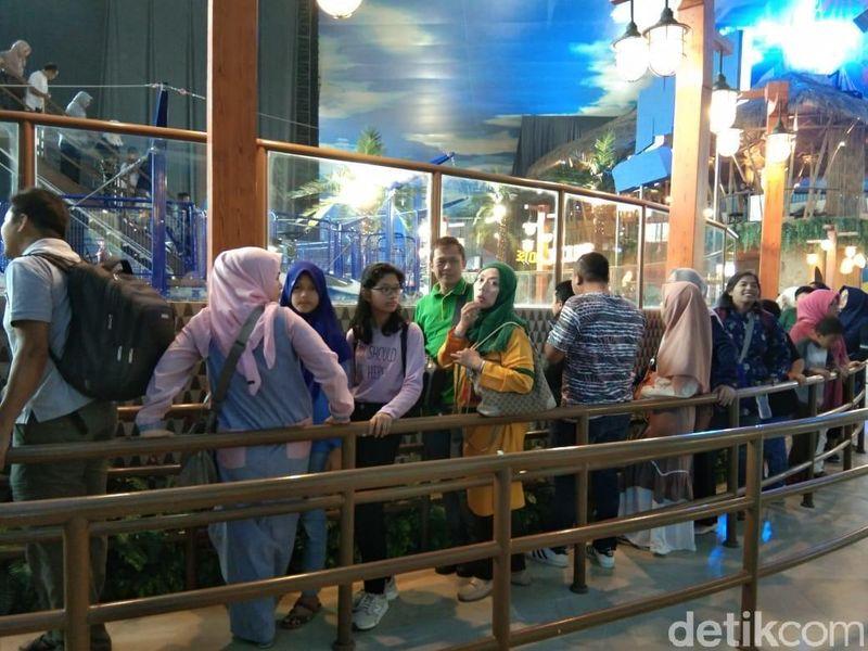 Akhir pekan ini, jangan bingung mau kemana bersama keluarga. Langsung saja ke Trans Studio Jakarta di Cibubur untuk liburan keluarga yang berkesan. (Tasya/detikcom)