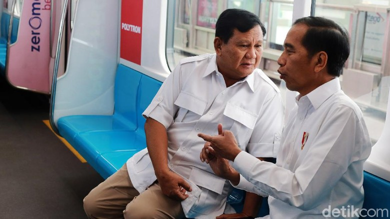 Bertemu Jokowi, Prabowo: Kita Harus Bersatu