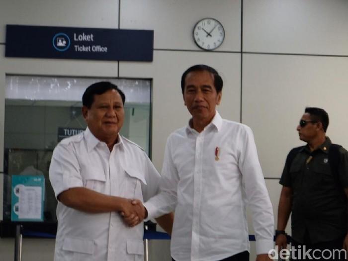 Prabowo Subianto-Jokowi (Foto: Andhika-detikcom)