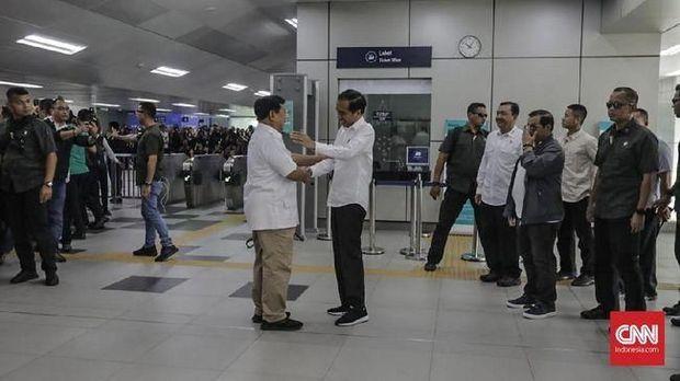 Adem! Jokowi: Ini Pertemuan Seorang Kawan, Saudara...