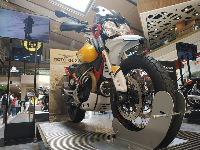 Moto Guzzi V85TT Foto: Ridwan/detikOto