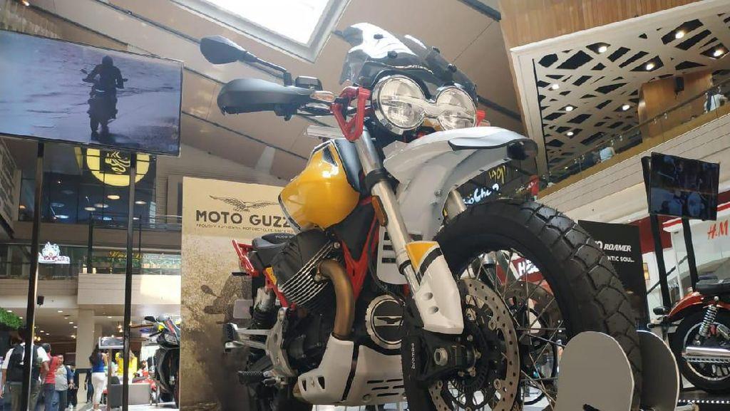 Moto Guzzi V85TT Sapa Indonesia dengan Banderol Ratusan Juta Rupiah