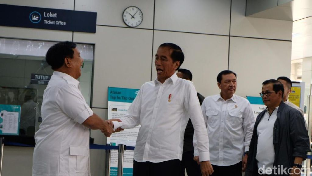 Pertemuan Jokowi dan Prabowo Beri Sinyal Positif Buat Ekonomi RI