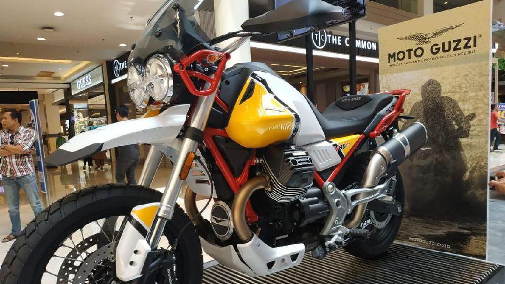 Punya Tampang Klasik Namun Modern, Ini Arti Moto Guzzi V85TT