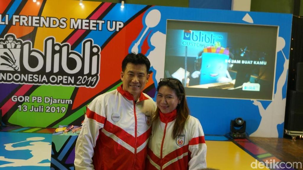 Film Susi Susanti-Love All Promosi di Istora Saat Indonesia Open 2019